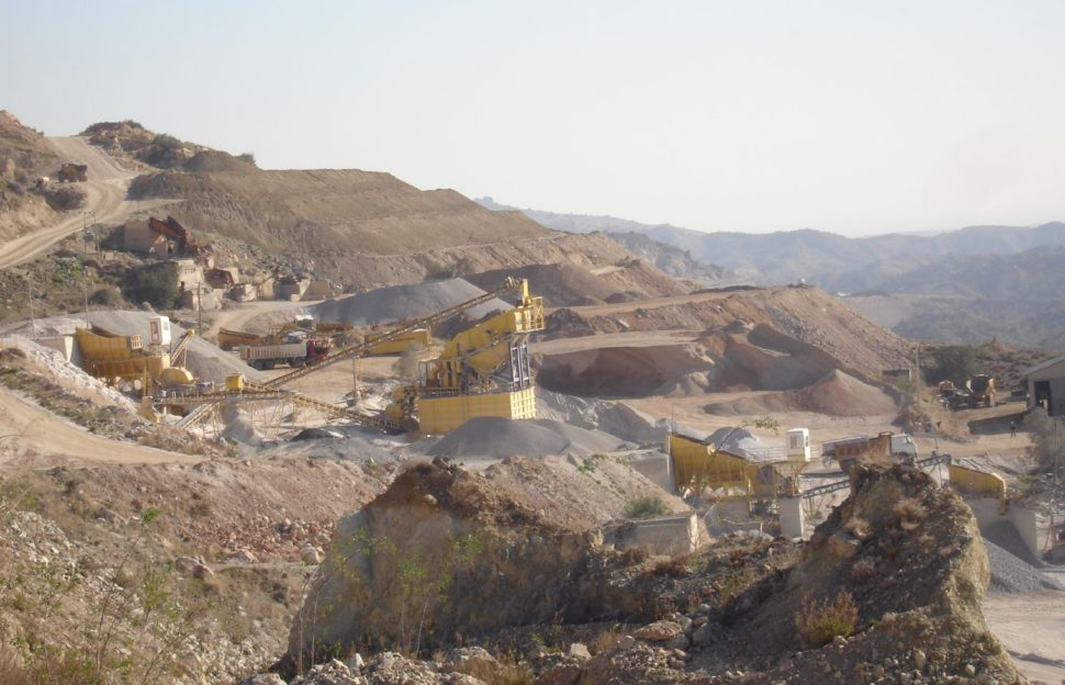 Quarries use Puma by Drillco DTH hammers and bits